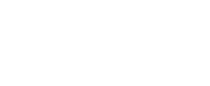 Logo en balanco sobre fondo transparente ANDACAT