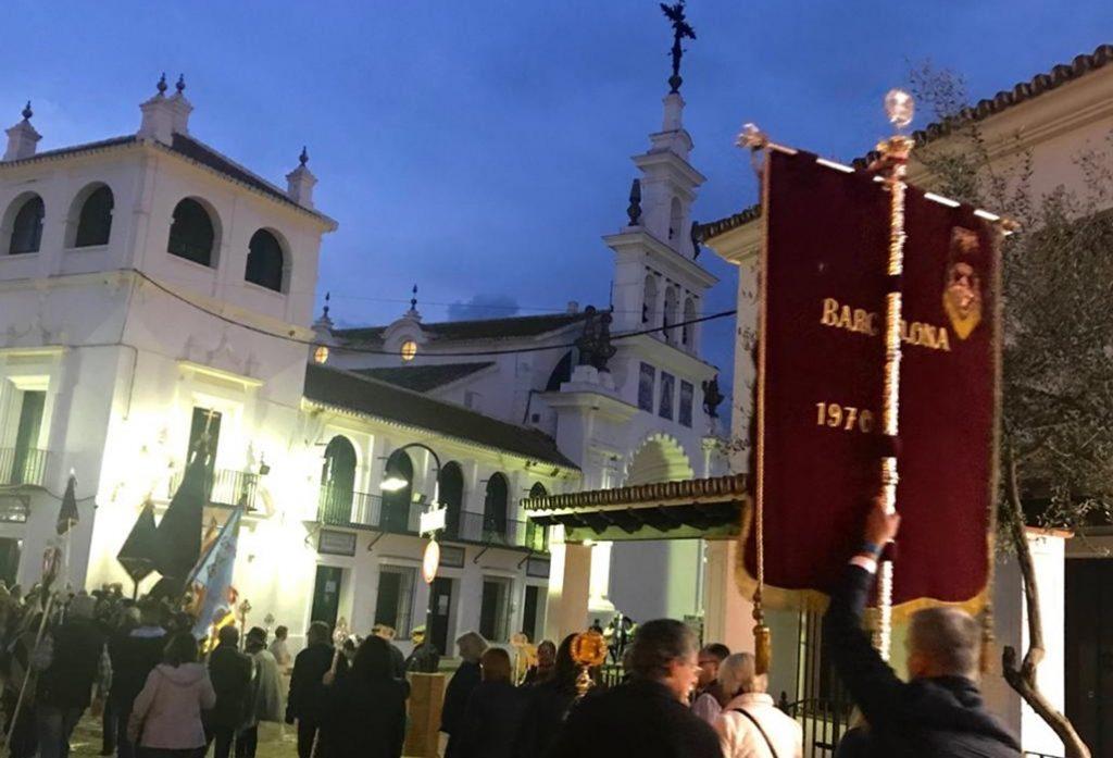 Peregrinación hermandades catalanas al Rocío