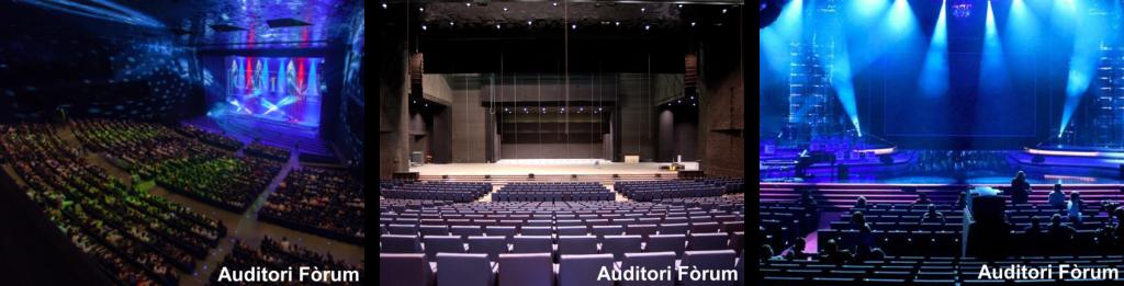 Cantores de Híspalis en el Auditori Forum de Barcelona