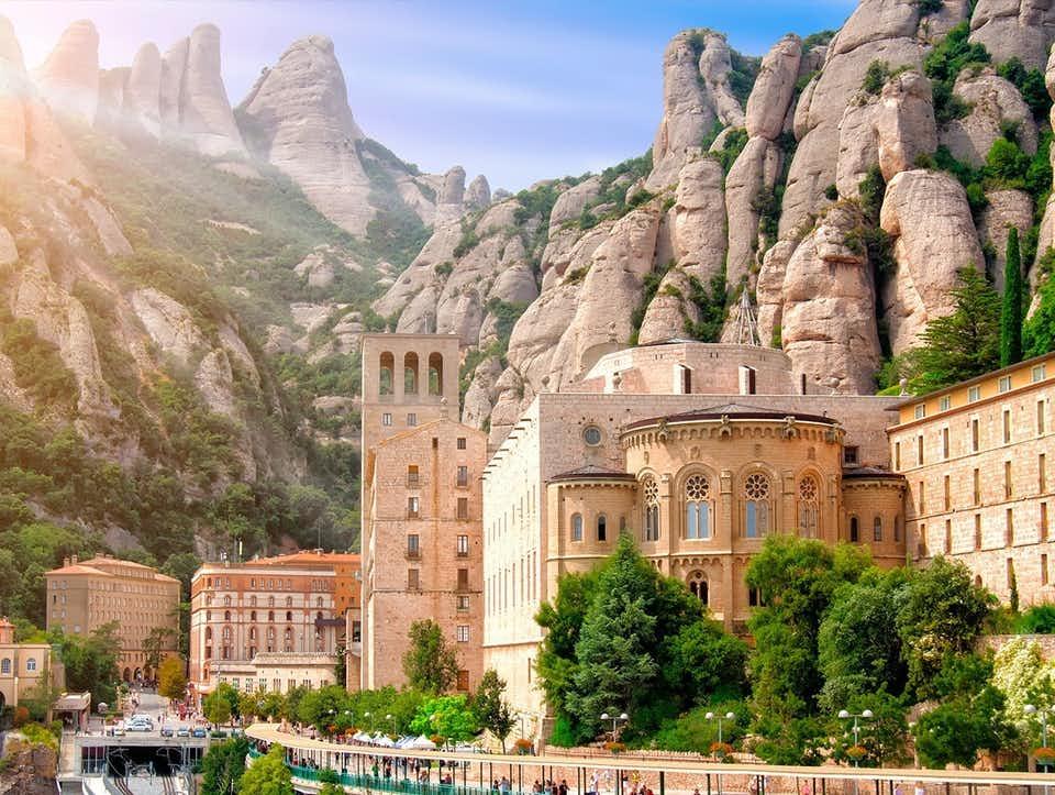 Encuentro rociero en Montserrat