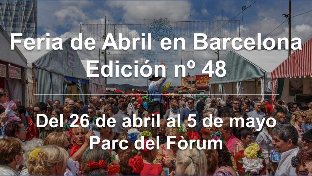 Feria de Abril de Cataluña en Barcelona