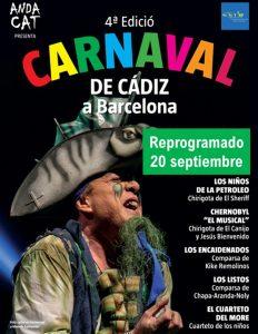 ANDACAT PRESENTA: IV Carnaval de Cádiz en Barcelona. @ Auditori Fòrum, Parc del Fòrum, Barcelona