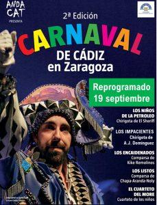 ANDACAT PRESENTA: 2º Carnaval de Cádiz en el Auditorio de Zaragoza. @ Auditorio de Zaragaoza