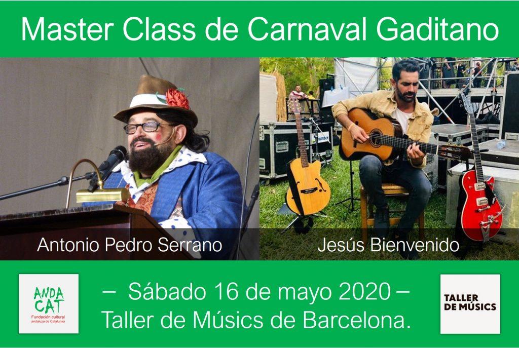 Bienvenido y Canijo profes de Carnaval en Barcelona
